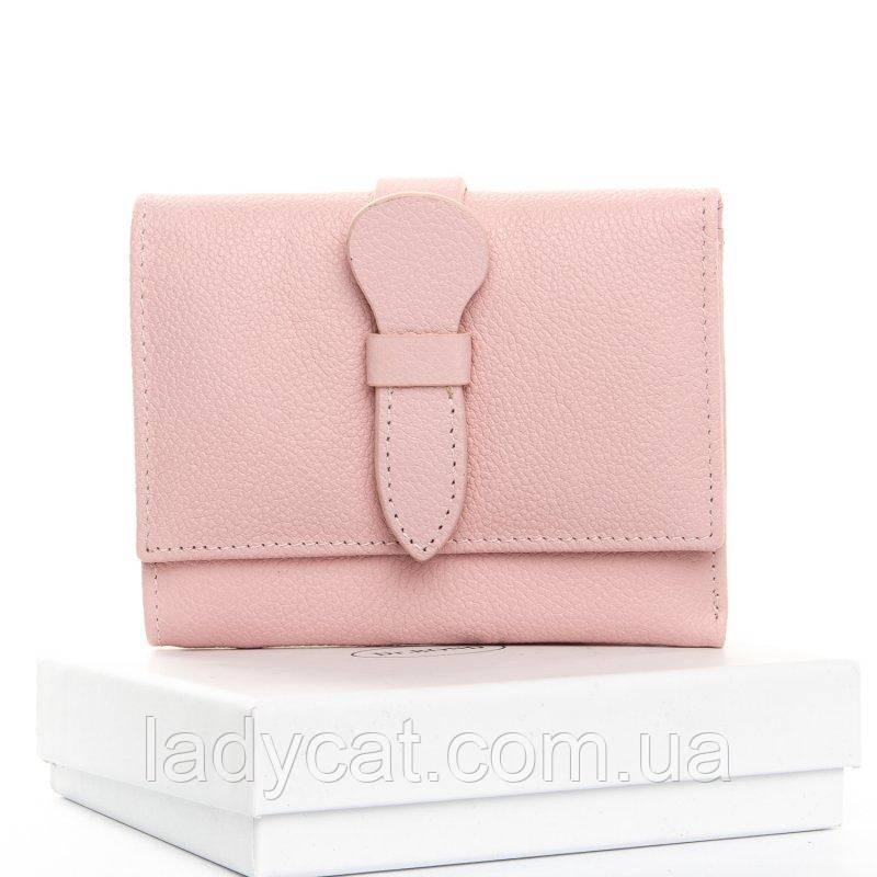 Маленький кошелек из кожи DR. BOND WS-21 pink