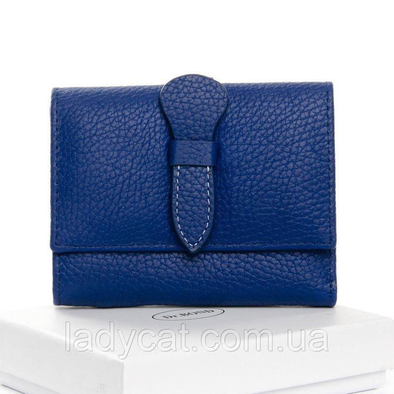 Маленький кошелек из кожи DR. BOND WS-21 light-blue