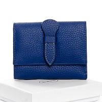 Маленький кошелек из кожи DR. BOND WS-21 light-blue, фото 1