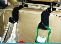 Крючок держатель для сумок в авто. Органайзер для пакетов на сидение автомобиля