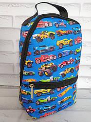 Рюкзак дитячий 30х20х8 см з внутрішнім відділенням і зовнішнім кишенею Р-1016
