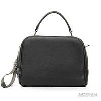 Женская сумка из натуральной кожи 8731-9 grey