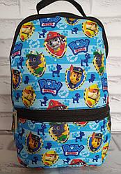 Рюкзак дитячий 30х20х8 см з внутрішнім відділенням і зовнішнім кишенею Р-1017