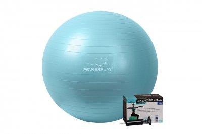 Мяч для фітнесу PowerPlay 4001 65см Мятний насос SKL24-238259