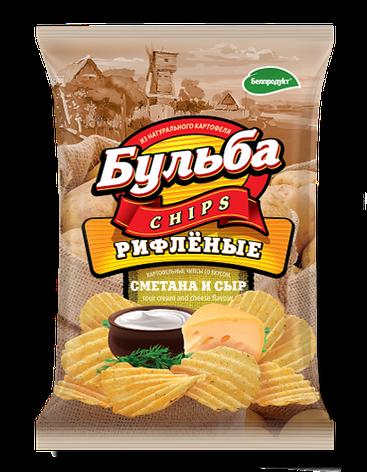 """Чипсы из натурального картофеля """"Белпродукт"""" 75,г, фото 2"""