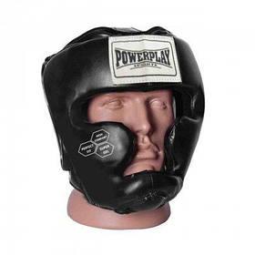 Боксерський шолом тренувальний PowerPlay 3043 Чорний XS SKL24-252440