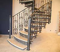 Кованые изделия для лестницы