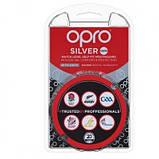 Капа Opro Junior Silver White-Black SKL24-277194, фото 6