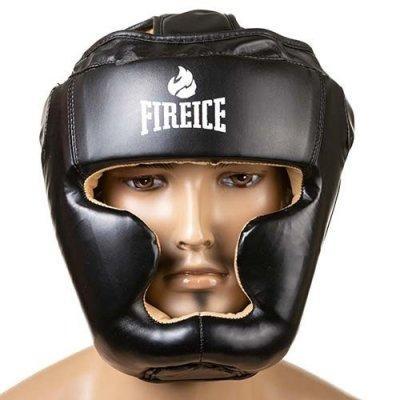 Боксерский шлем World Sport закрытый FireIce Flex L черный SKL11-280831
