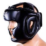 Боксерский шлем закрытый Everlast Flex S черный SKL11-280844, фото 3