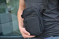 Мужская сумка мессенджер  / мужская сумка через плечо / Сумка чоловіча чорна / Барсетка, фото 1
