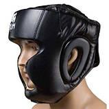 Боксерський шолом закритий Venum Flex M чорний SKL11-280882, фото 2