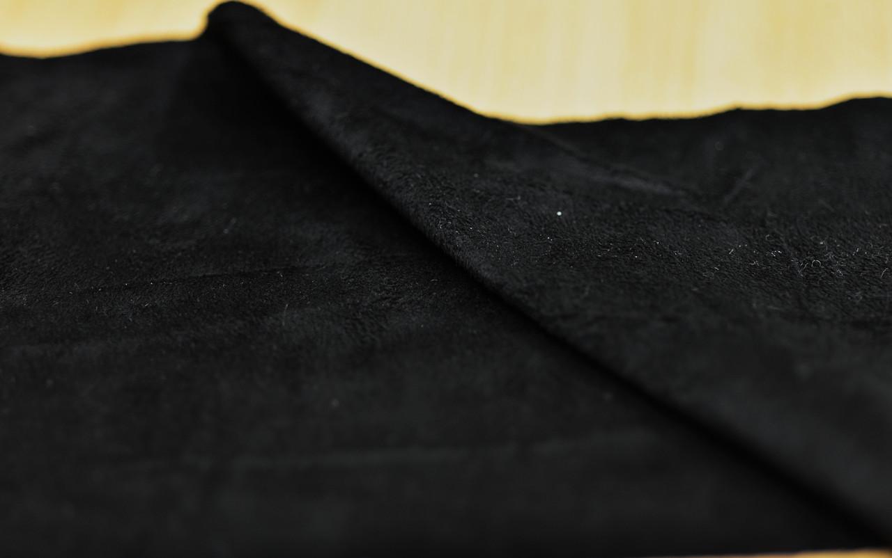 Искусственная замша черная