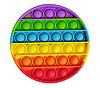 Pop It (поп ит) сенсорная игрушка антистресс, радужный круг