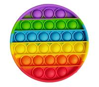 Pop It (поп ит) сенсорная игрушка антистресс, радужный круг, фото 1