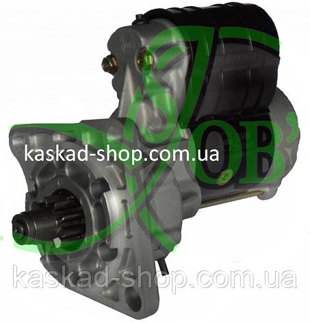 Стартер редукторний 12в 2,8 кВт Case JCB Ford, фото 2