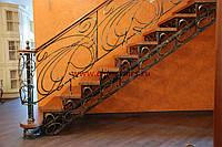 Ковані вироби з металу огородження сходів