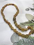 Янтарь натуральный необработанный лечебный янтарные бусы из янтаря янтарные бусы 48 см, фото 4