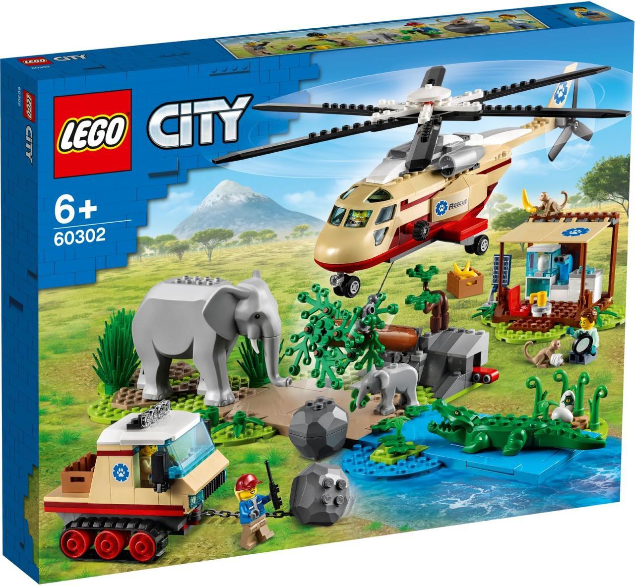 Lego City Операция по спасению зверей 60302