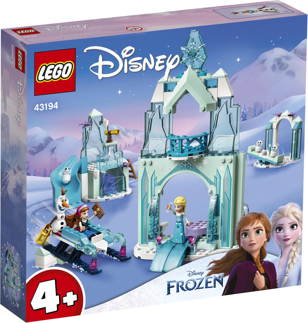 Lego Disney Princesses Зимняя сказка Анны и Эльзы 43194