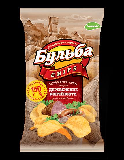 """Чіпси з натуральної картоплі """"Белпродукт"""" 150, г"""