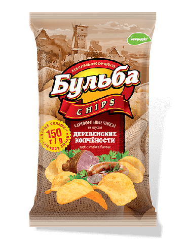 """Чіпси з натуральної картоплі """"Белпродукт"""" 150, г, фото 2"""