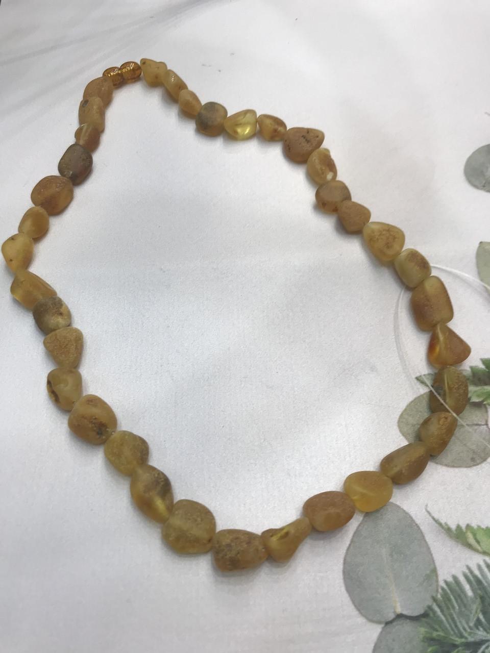 Янтарь натуральный необработанный лечебный янтарные бусы из янтаря янтарные бусы 49 см