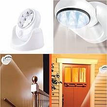 Светодиодная лампа- Light Angel (Лайт Енджел)с датчиком движения