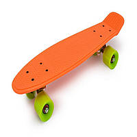 Скейт Пенни борд скейтборд пенниборд Penny Board светящиеся колёса