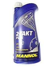 Масло Mannol 2т полусинтетическое для 2т скутеров
