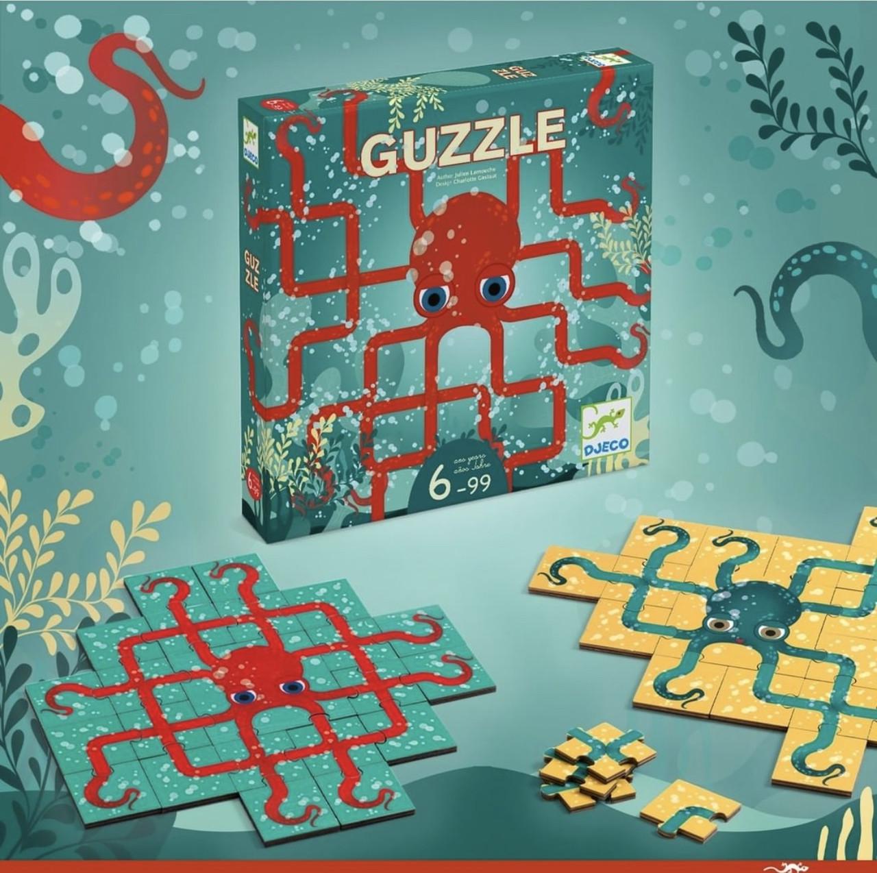 """DJECO Настільна гра """"Гуззли"""" Guzzle"""