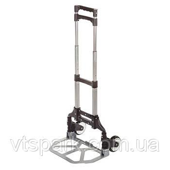 Платформа ручная, 80 кг, 640х390х60 мм, колесо 5''. Складская грузовая платформенная тележка