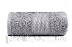 Полотенце махровое 50х90 Miranda Soft Серый