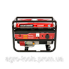 Генератор бензиновый WEIMA WM3200Е (электростартер, 3,2 кВт, 1 фаза)