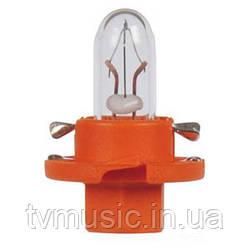 Автолампа Philips 12624CP BAX BX8,4d Orange