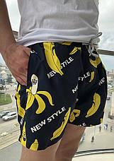 Шорты плавательные мужские с принтом, фото 2