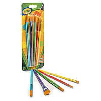 Набор кистей для рисования Crayola 5 Assorted Paintbrushes 5 шт (300700)