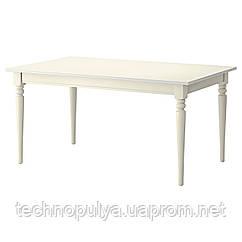 Раздвижной стол IKEA INGATORP Белый (702.214.23)