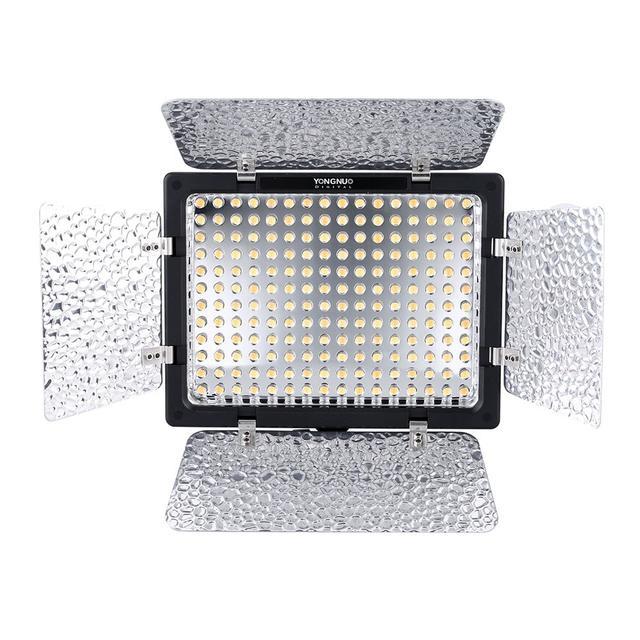 Постоянный LED свет Yongnuo YN160III (3200-5500К) передняя панель 1