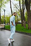 Спортивний костюм оверсайз. Річний комплект. Футболка і шорти., фото 4