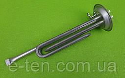 Тэн двойной из нержавейки KAWAI 2000W / на фланце Ø92мм-93мм (с трубкой под термостаты) для бойлеров