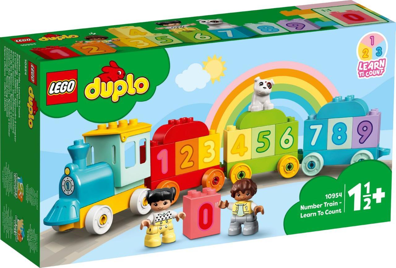 Lego Duplo Поїзд з цифрами - вчимося рахувати 10954