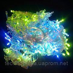 Гирлянда Водопад LED 720 RGB прозрачный провод (AN00099)