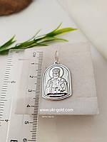 Серебряная иконка св. Николая Чудотворца