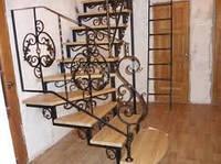 Ковка для лестницы балясины