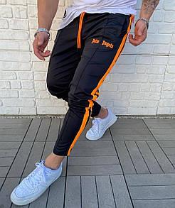Брендовые спортивные штаны Palm Angels Black