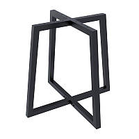 Опора для круглого столу Loft Design Бланк товщина металу 2мм Чорний