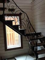 Красивая ковка для ограждений лестниц