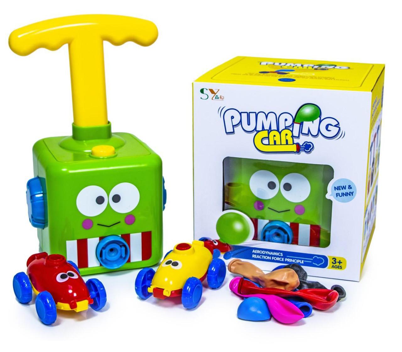 Дитяча гра повітряні гонки Pumping Car 57-1