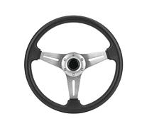 Рулевое колесо 13.5 алюминий серебристое